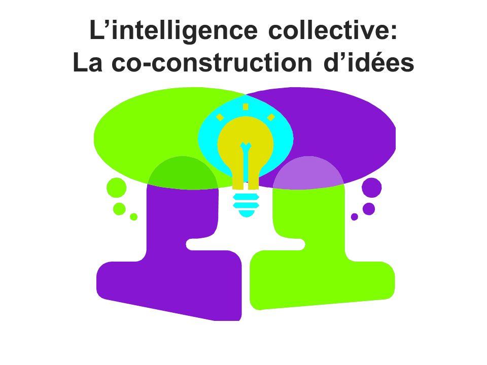 Lintelligence collective: La co-construction didées