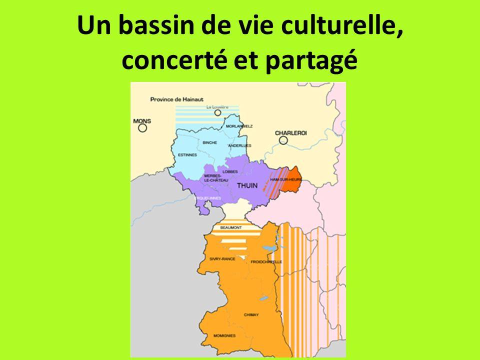 Un bassin de vie culturelle, concerté et partagé