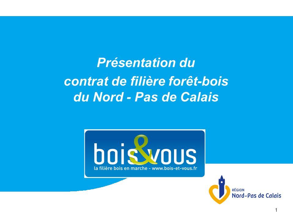 1 Présentation du contrat de filière forêt-bois du Nord - Pas de Calais