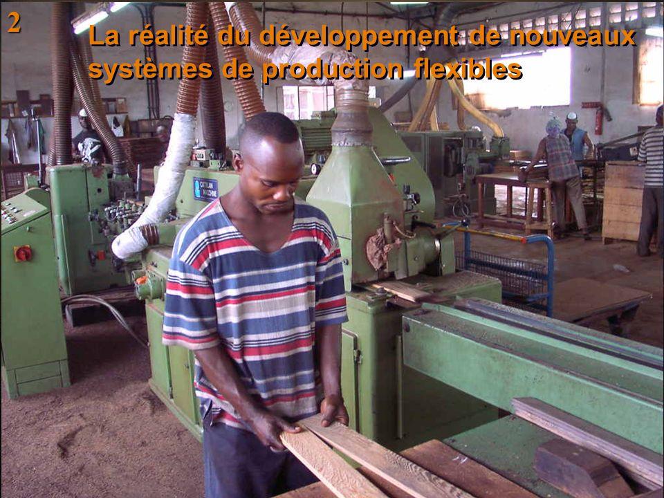 La réalité du développement de nouveaux systèmes de production flexibles 2