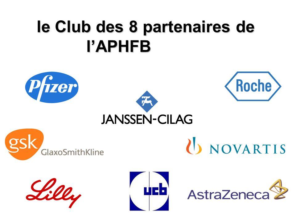 le Club des 8 partenaires de lAPHFB