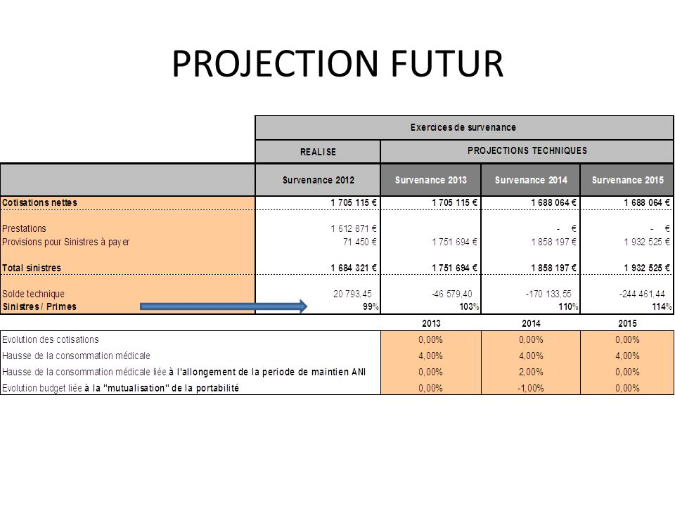 PROJECTION FUTUR