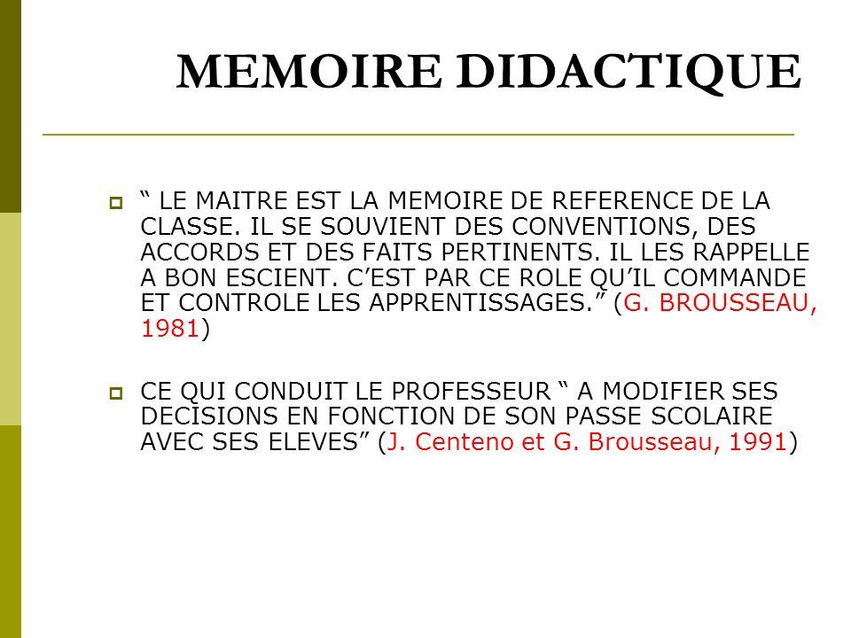 CONTRAT DIDACTIQUE G. BROUSSEAU didacticien des mathematiques IL EST SPECIFIQUE A UNE DISCIPLINE DONNEE. IL EST DABORD EPISTEMOLOGIQUE : IL RESULTE NO