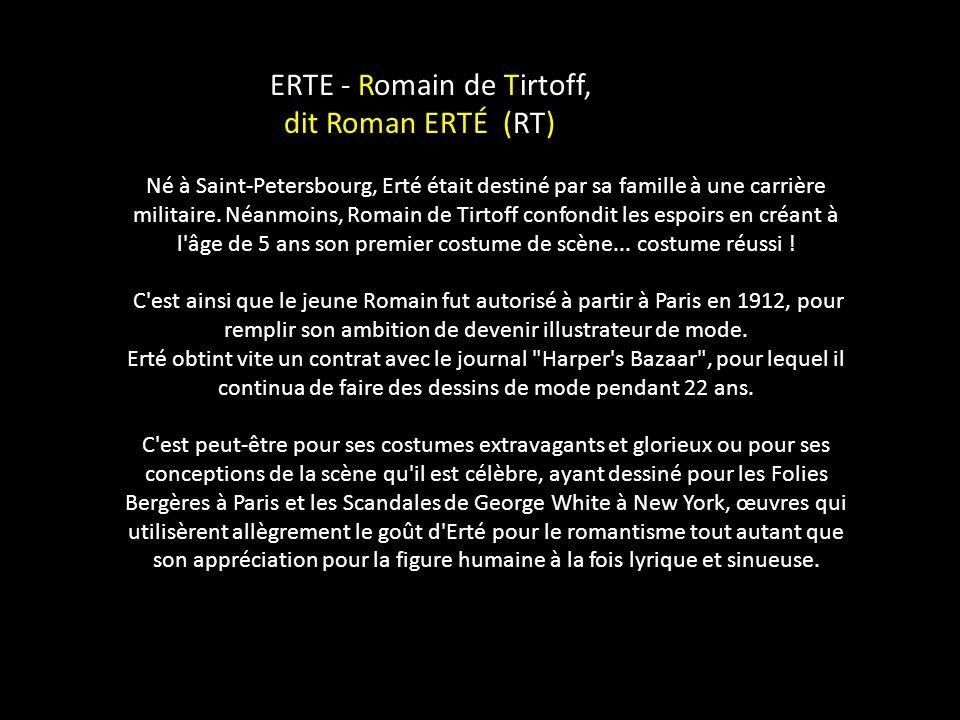Romain de Tirtoff ( 1892-1990 ) Laissez défiler les images