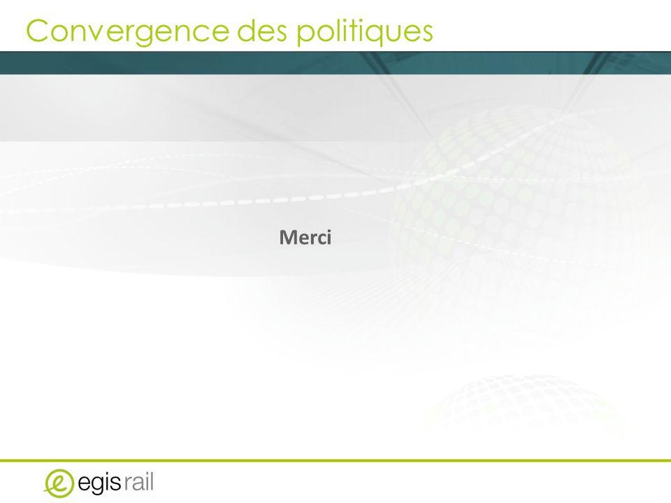 Convergence des politiques Merci