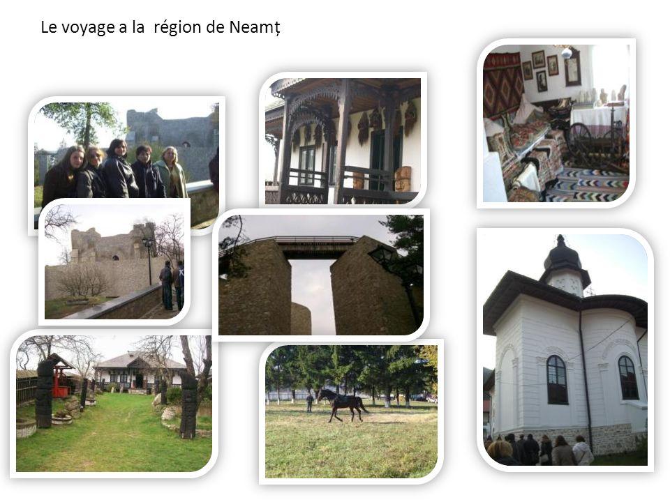 Le voyage a la région de Neamț