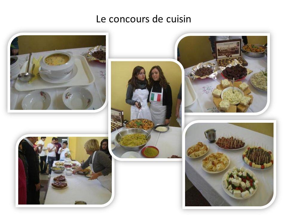 Le concours de cuisin