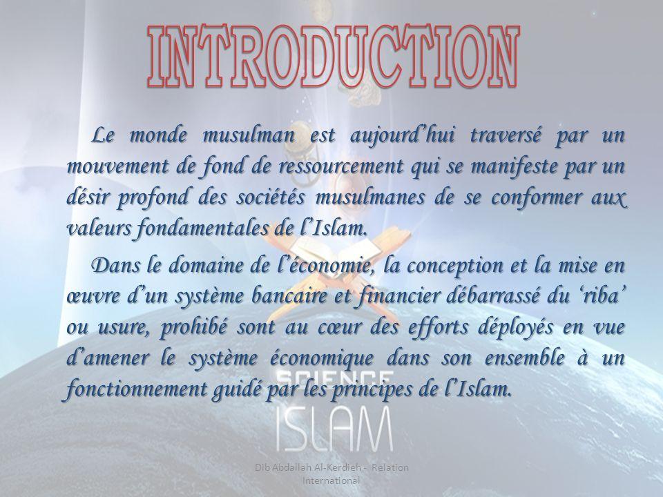 Le monde musulman est aujourdhui traversé par un mouvement de fond de ressourcement qui se manifeste par un désir profond des sociétés musulmanes de se conformer aux valeurs fondamentales de lIslam.