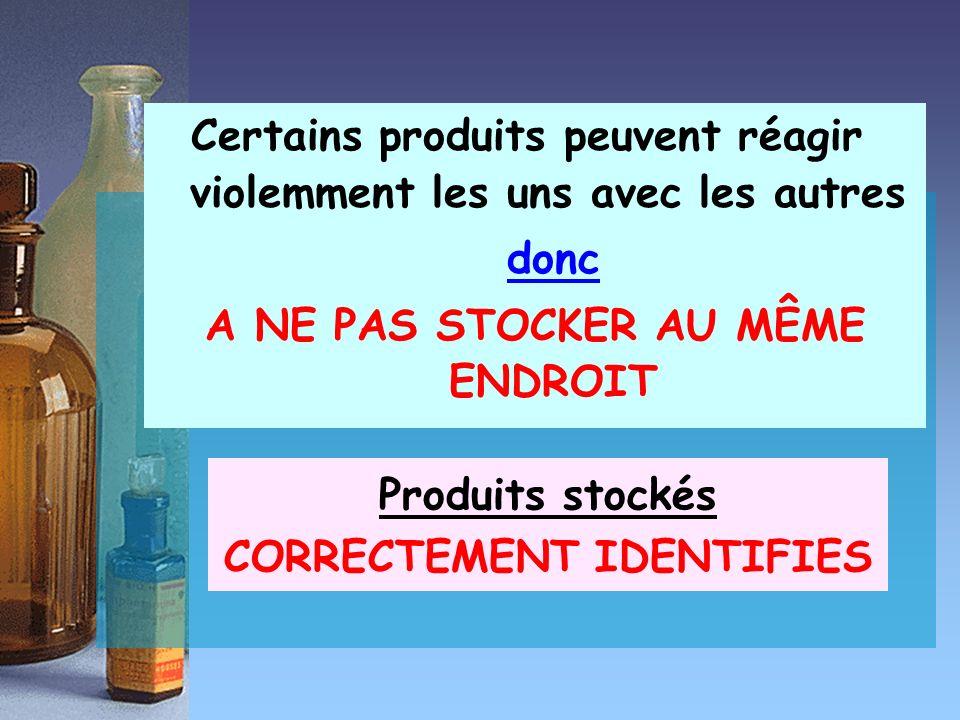 III.1 – Lieux de stockage * Magasin ou réserve Pour stockage à long et moyen termes * Etagères * Placards sous les paillasses * Armoires * Réfrigérateur