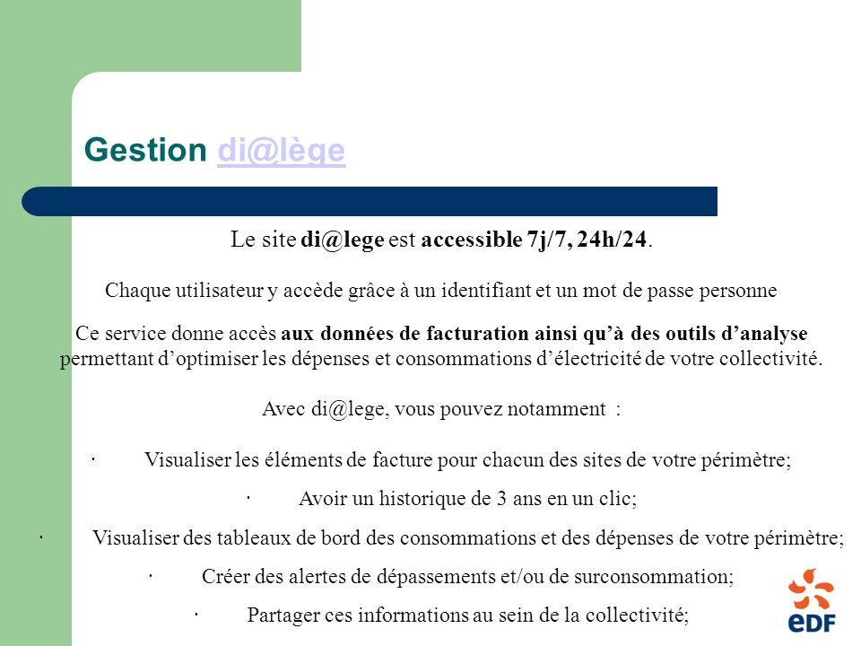 Gestion di@lègedi@lège Le site di@lege est accessible 7j/7, 24h/24.