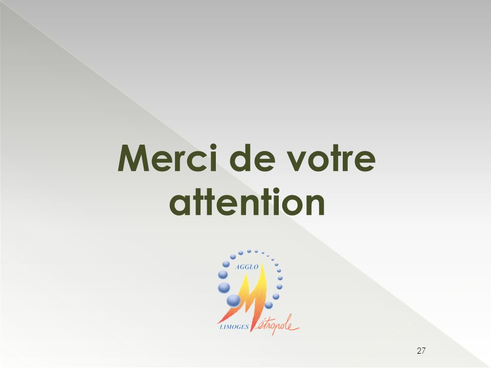 Merci de votre attention 27
