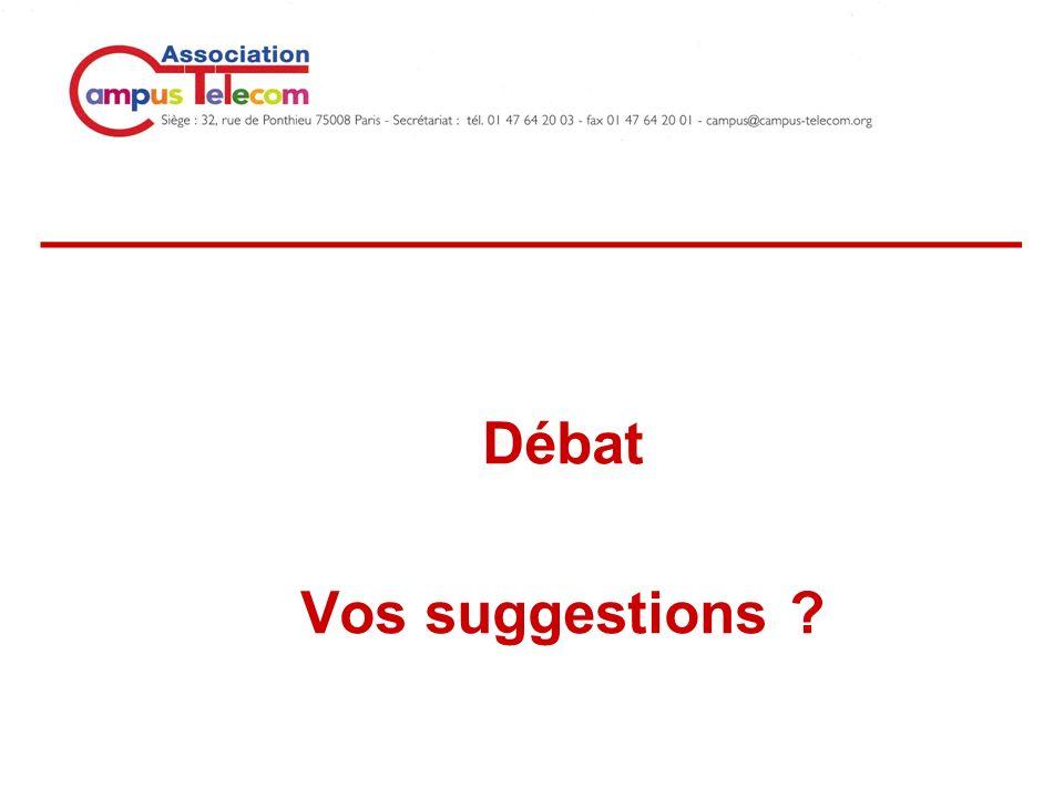___________________________ Débat Vos suggestions ?