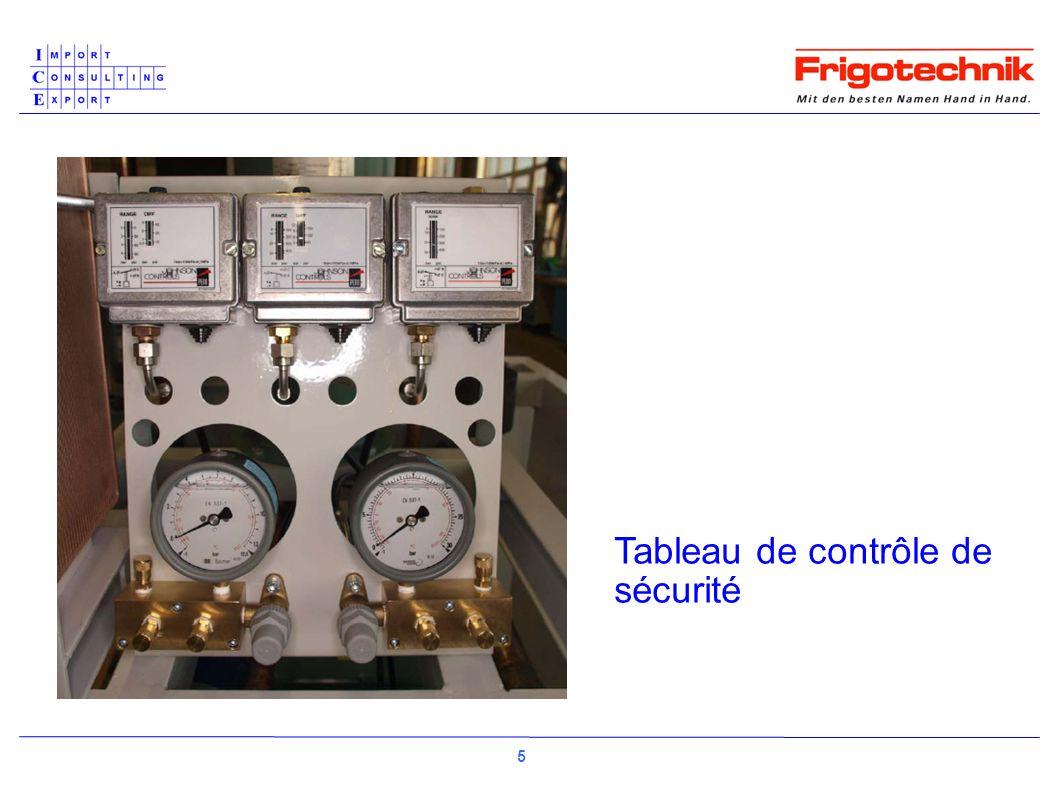 Tableau de contrôle de sécurité 5