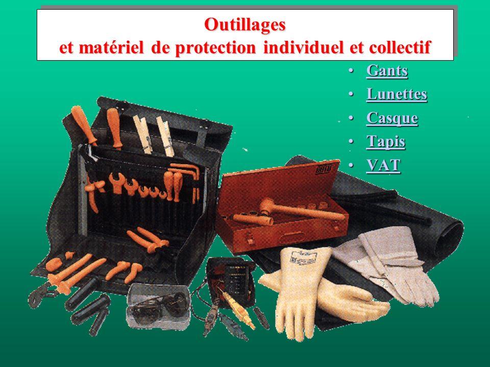 Outillages et matériel de protection individuel et collectif GantsGantsGants LunettesLunettesLunettes CasqueCasqueCasque TapisTapisTapis VATVATVAT