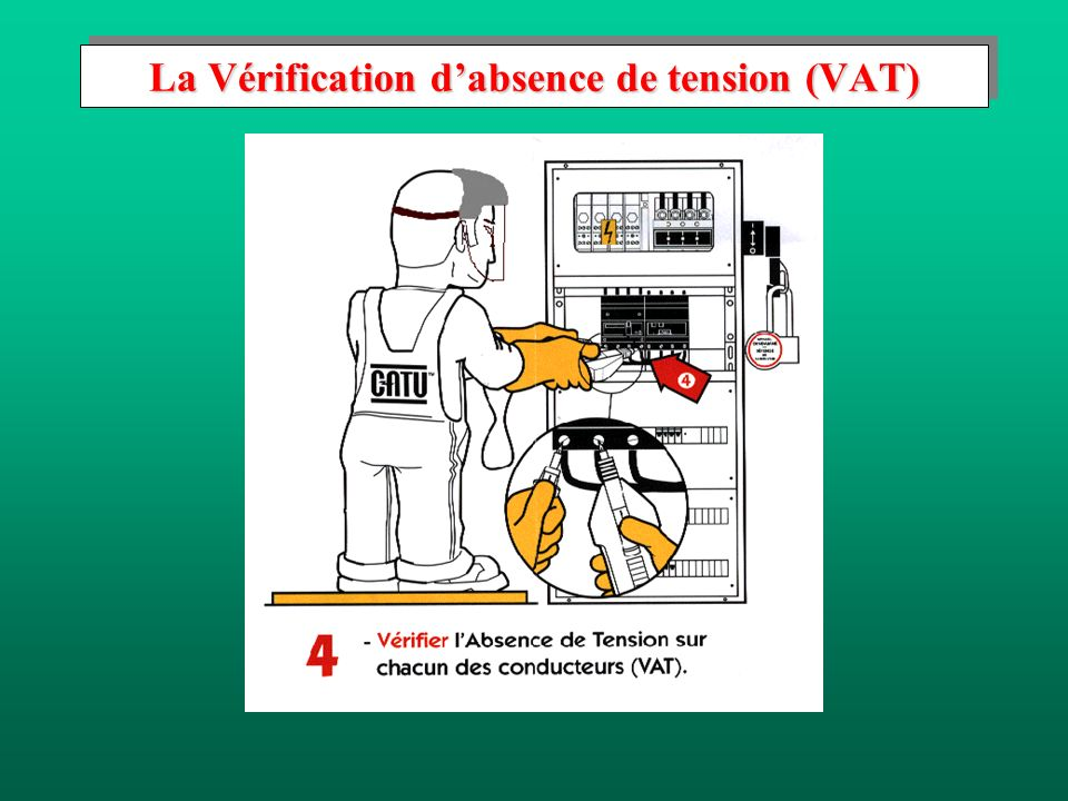 La Vérification dabsence de tension (VAT)