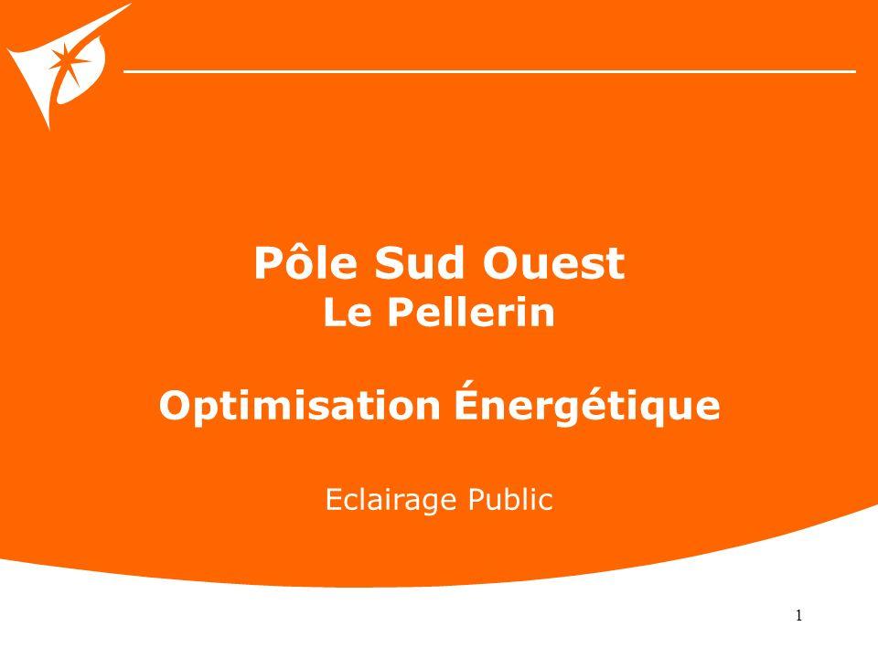 1 Pôle Sud Ouest Le Pellerin Optimisation Énergétique Eclairage Public