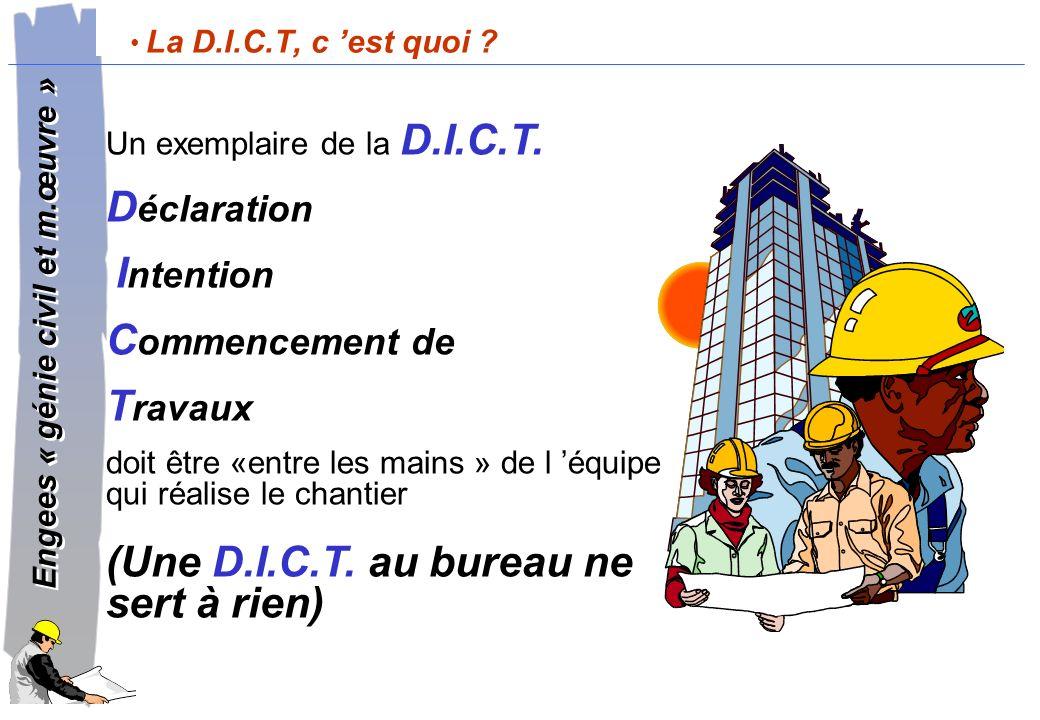 Engees « génie civil et m.œuvre » Engees « génie civil et m.œuvre » Article 178 du D.