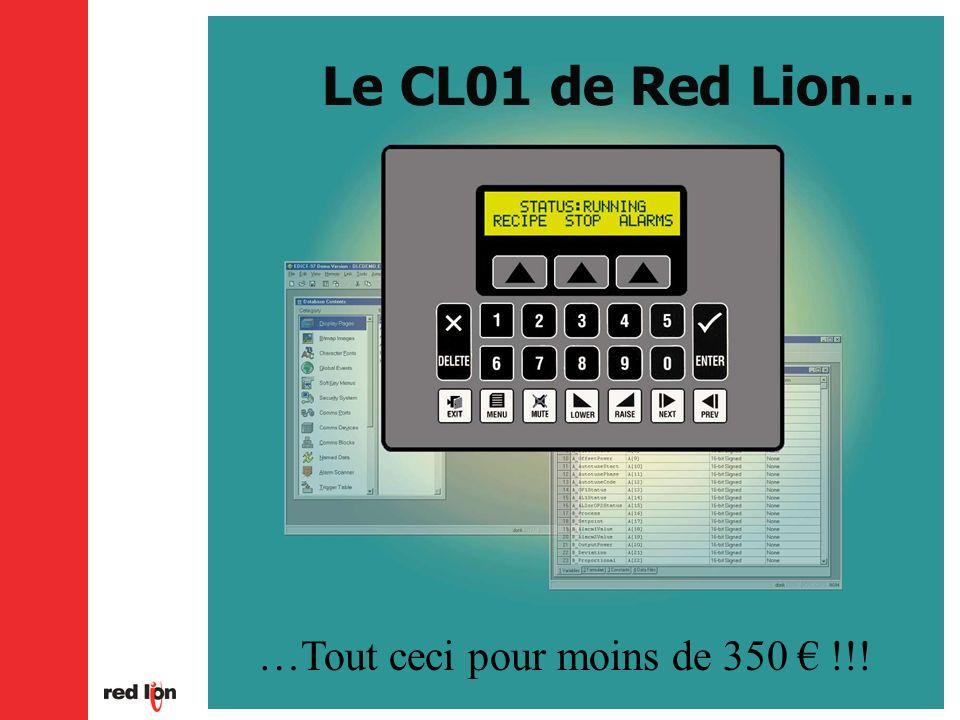 Le CL01 de Red Lion… …Tout ceci pour moins de 350 !!!