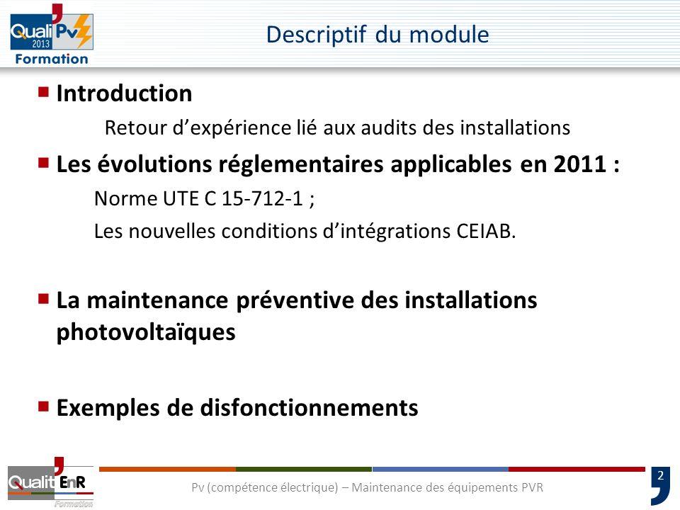 3 1000 entreprises QUaliPV auditées Premiers résultats Retour dexpérience lié aux audits des installations.