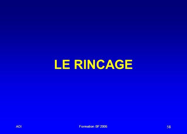 AOIFormation BF 2005 58 LE RINCAGE