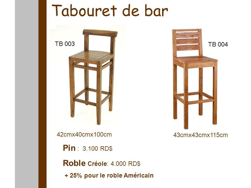 Tables basses 90cmx90cmx34cm 100cmx100cmx45cm Pin : 4.900 RD$ Roble : 6.200 RD$ Pin : 4.700 RD$ Roble : 5.800 RD$ Tb 007 Tb 012