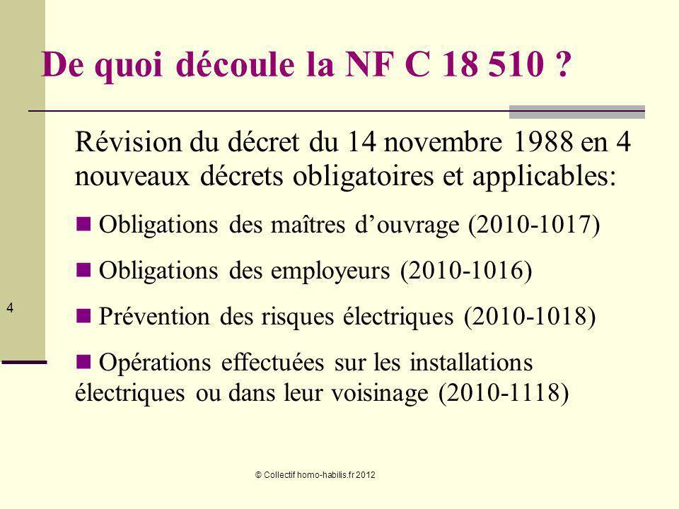 © Collectif homo-habilis.fr 2012 25 Personne ordinaire personne qui nest ni une PERSONNE QUALIFIÉE, ni une PERSONNE AVERTIE