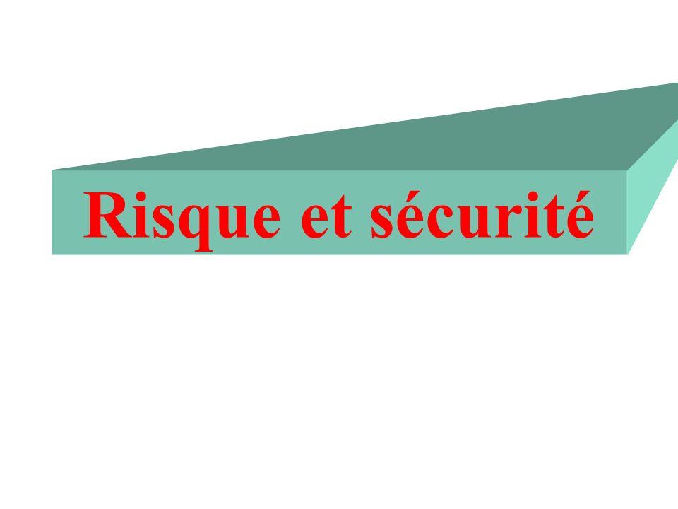 Risque et sécurité
