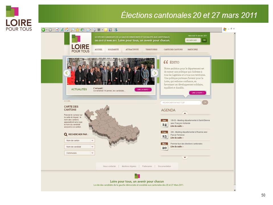 Élections cantonales 20 et 27 mars 2011 50