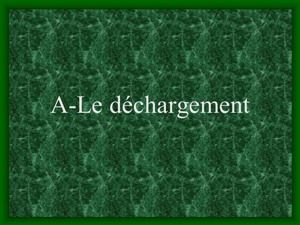 A-Le déchargement