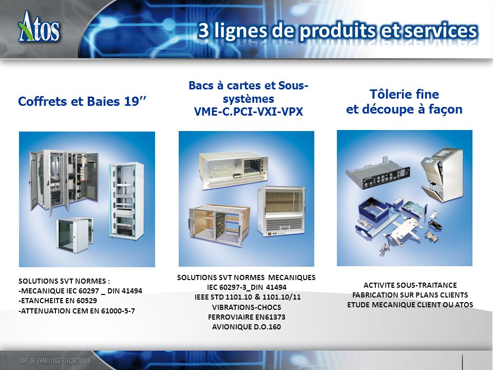 SOUS-SYSTEMES et SYSTEMES SELON S.T.B.