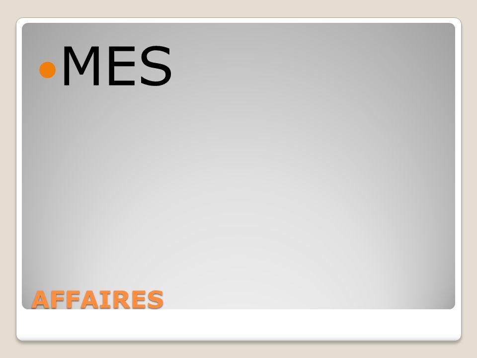 AFFAIRES MES