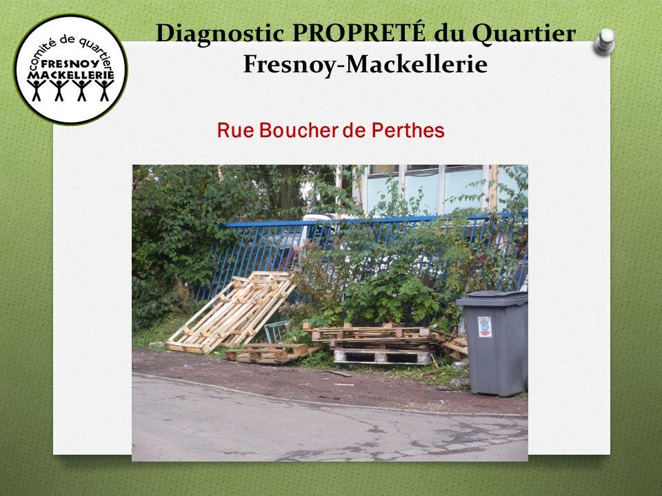 Diagnostic PROPRETÉ du Quartier Fresnoy-Mackellerie Rue de Lorraine