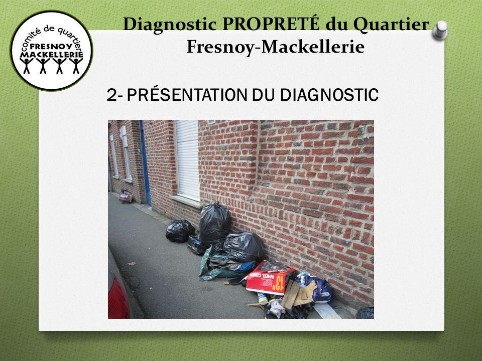 Diagnostic PROPRETÉ du Quartier Fresnoy-Mackellerie 2- PRÉSENTATION DU DIAGNOSTIC