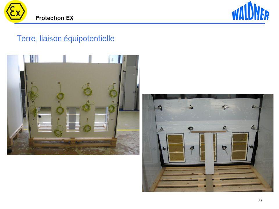 Protection EX Terre, liaison équipotentielle 27