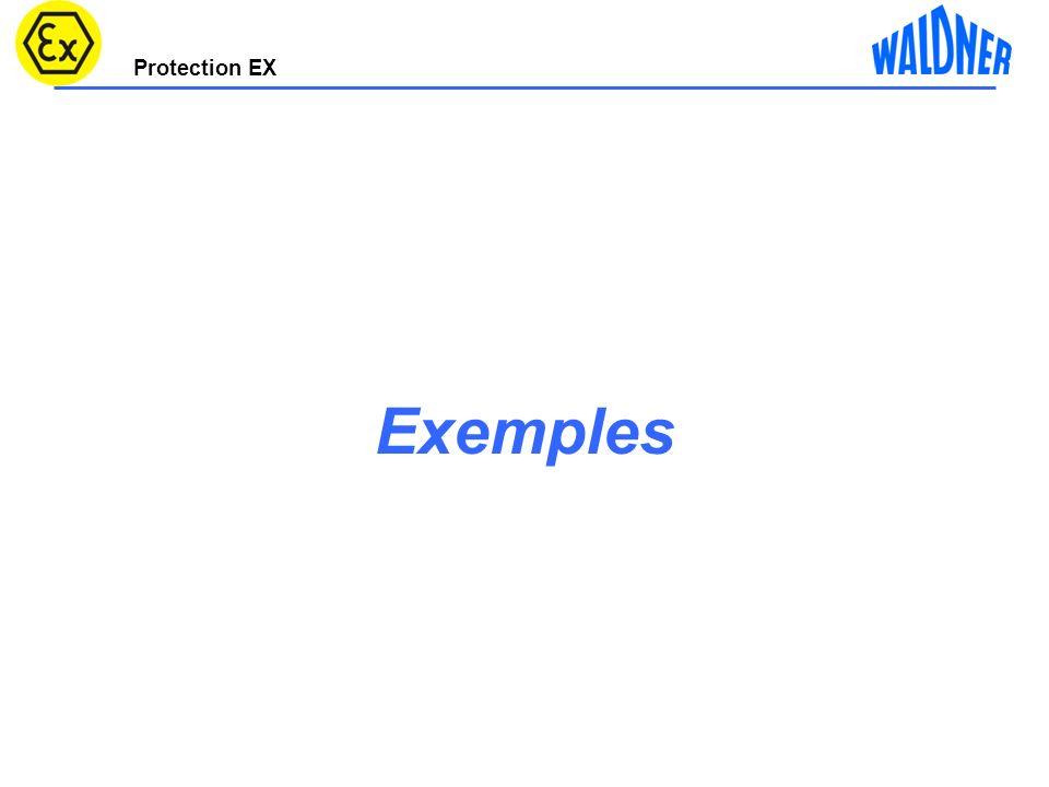 Protection EX Commutateur Ex Commutateur standard 4 Variantenbeispiel