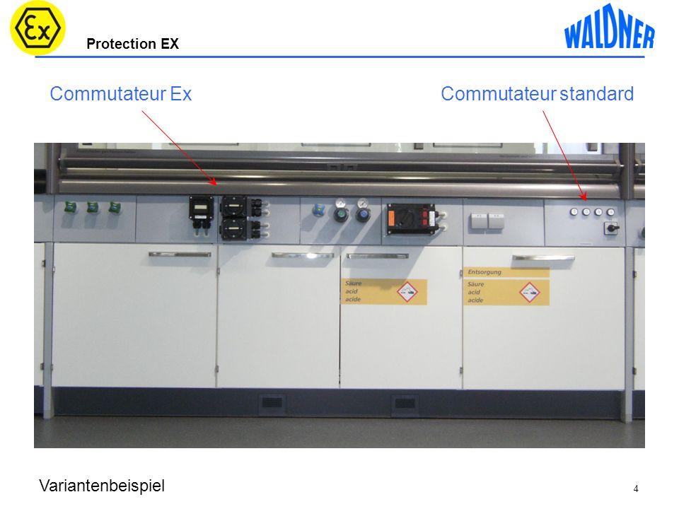 Protection EX Statische Elektrizität Analyse des sources dinflammation Caisson dextraction Aspiration partie basse