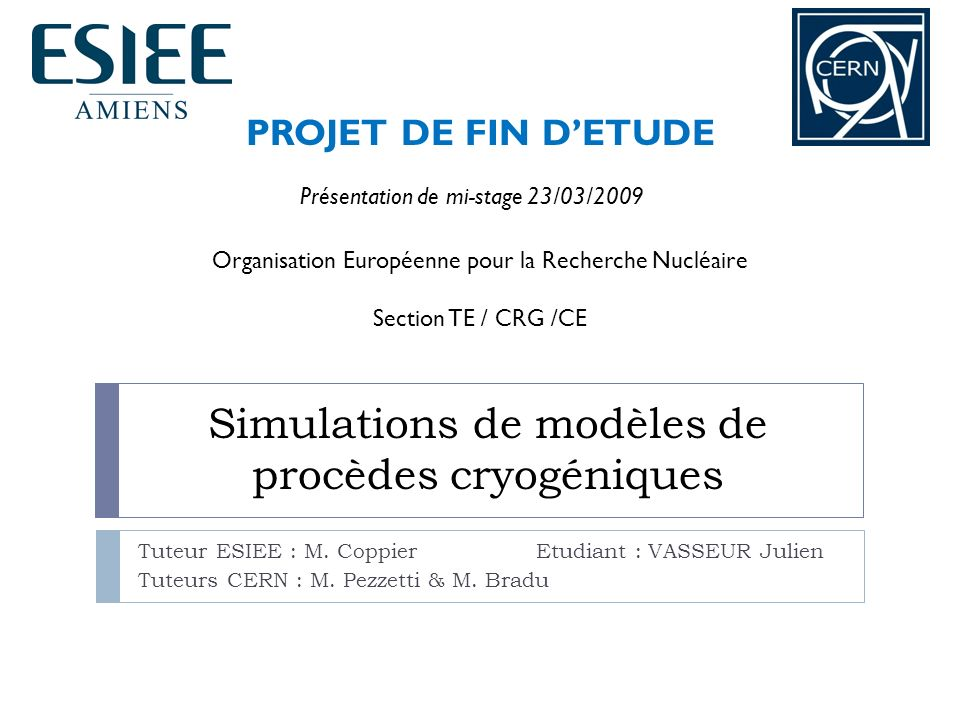 Sommaire I – Introduction 1.le CERN et le LHC 2.
