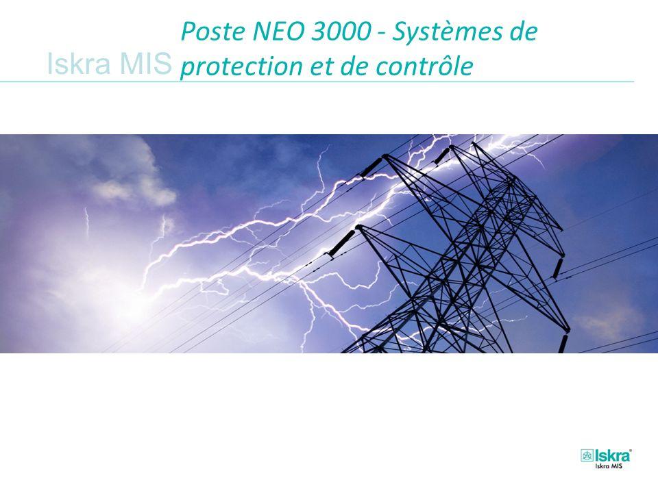 Iskra MIS Poste NEO 3000 - Systèmes de protection et de contrôle