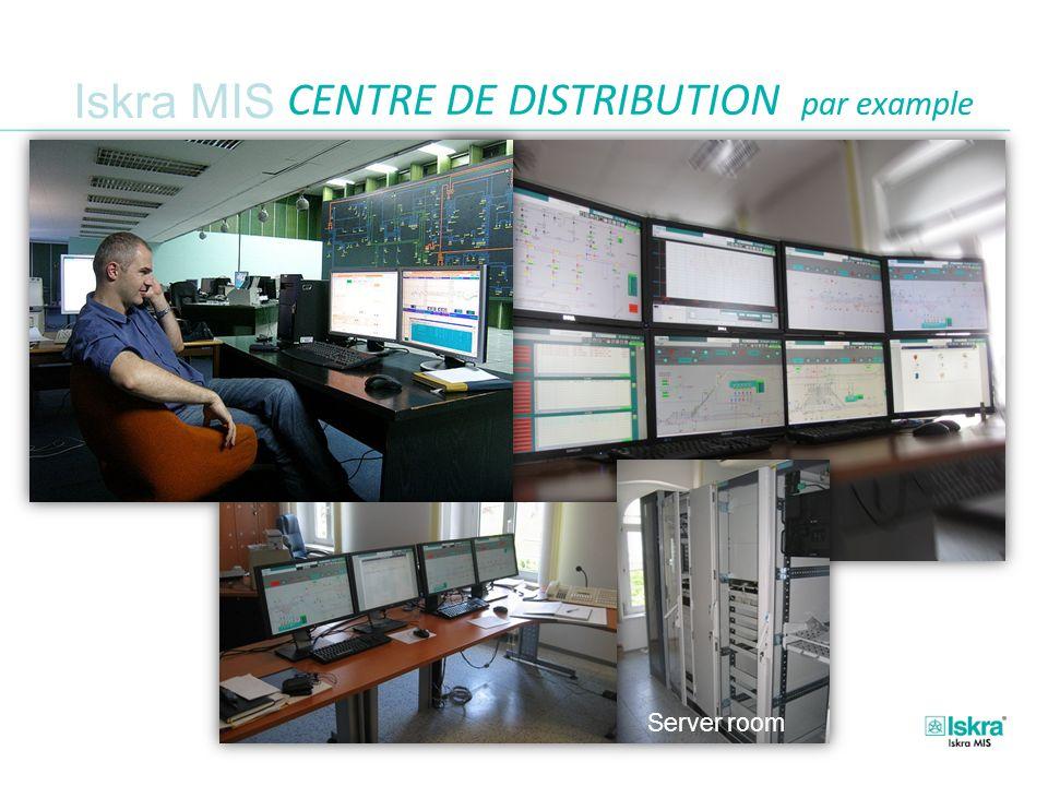 Iskra MIS CENTRE DE DISTRIBUTION par example Server room