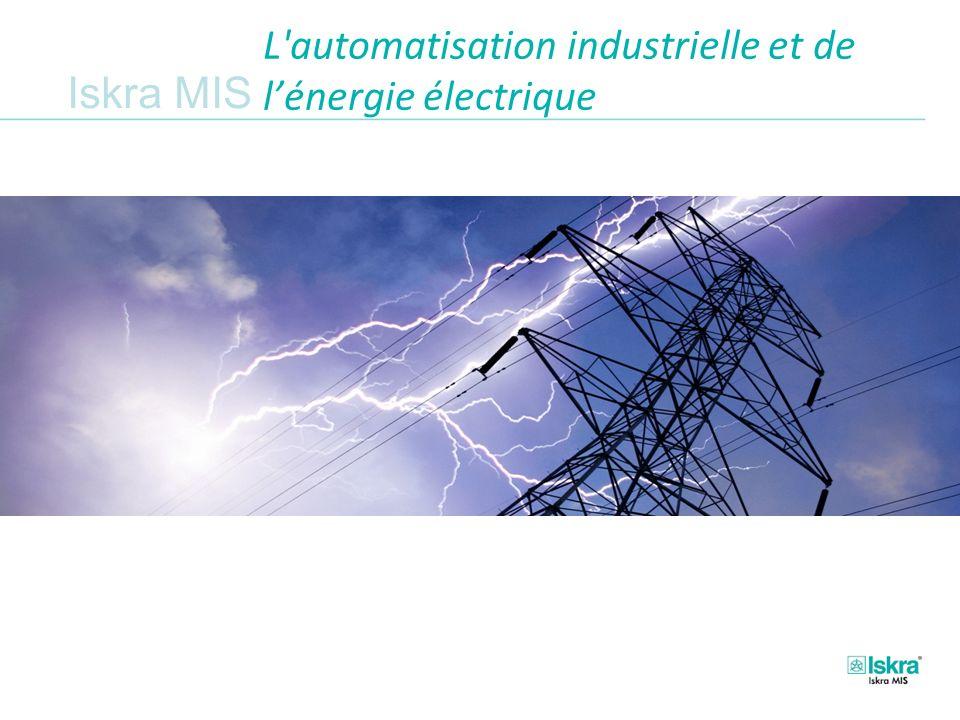 Iskra MIS L automatisation industrielle et de lénergie électrique