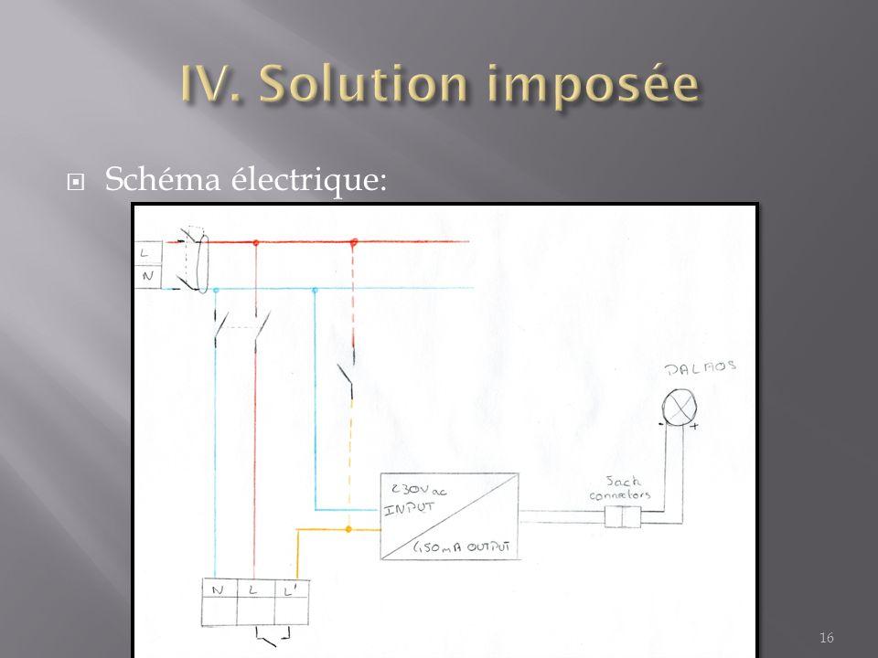 Schéma électrique: 16