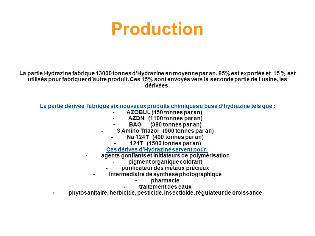 Procédé de production