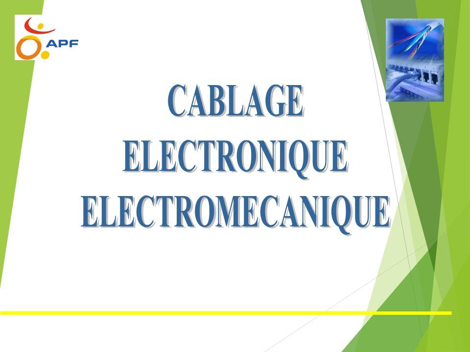 Câblage, connectique et filerie Connectique
