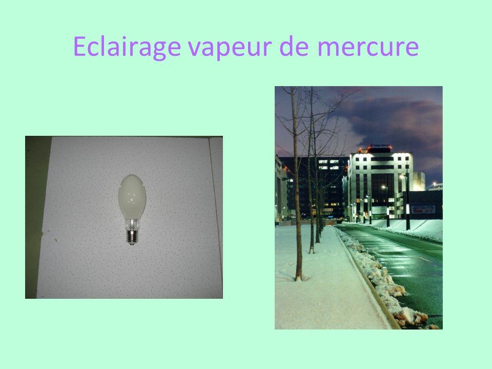 Eclairage vapeur de mercure