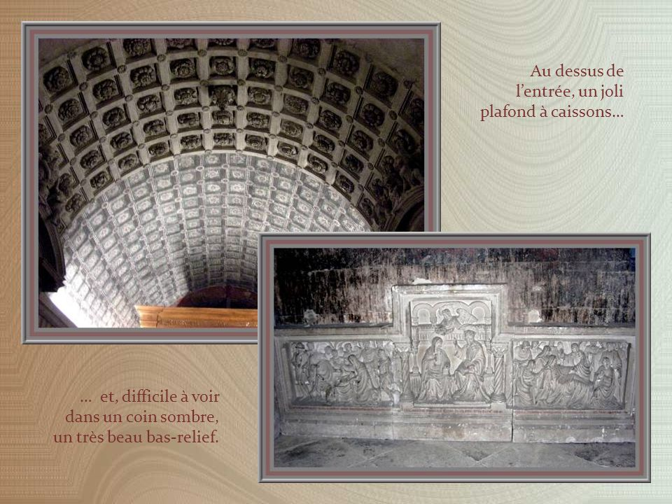 Chapelle baroque de Notre-Dame des Doms