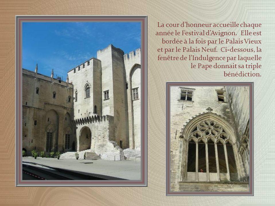 Le palais tel quil se présentait aux XVIIe et XVIIIe siècles.