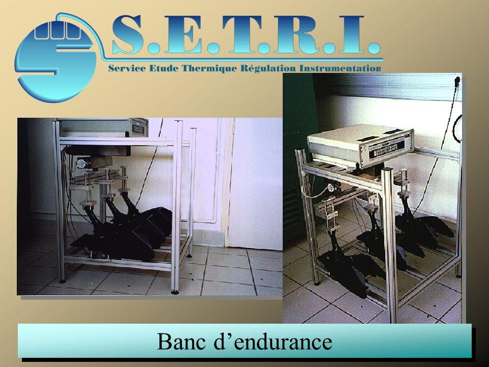 Banc dendurance