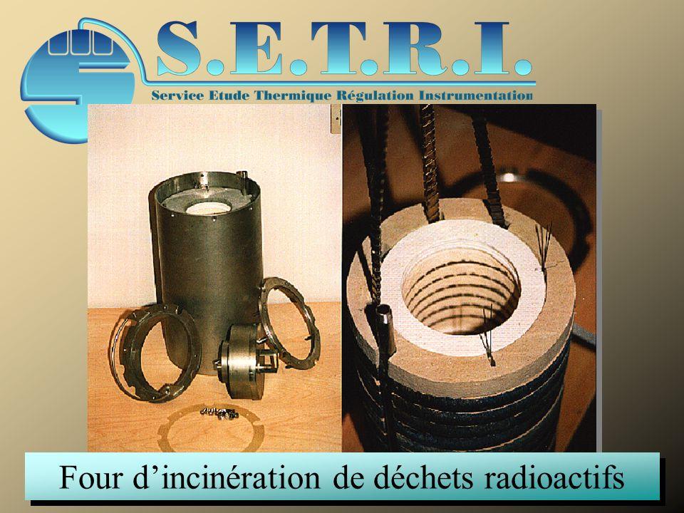 Four dincinération de déchets radioactifs