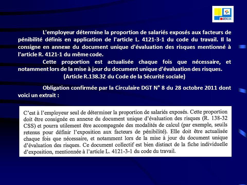 LE CONTEXTE LEGAL ET REGLEMENTAIRE Le Décret n° 2001-1016 du 05 novembre 2001 met à la charge de lemployeur, dans toutes structures (Associations, Col