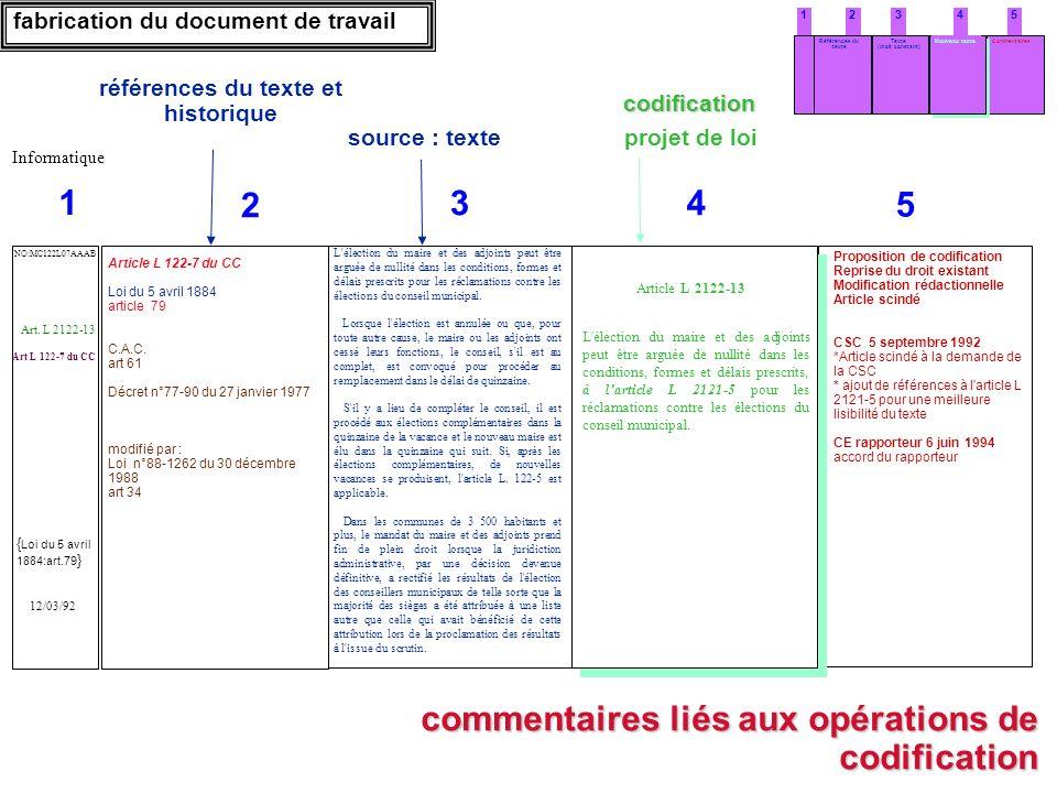 54321 Texte (droit constant) Références du texte Nouveau texteCommentaires commentaires liés aux opérations de codification fabrication du document de